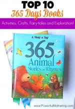 """Top 10 """"365 Days Books"""" Activities, Crafts, Fairy-tales and Exploration!"""