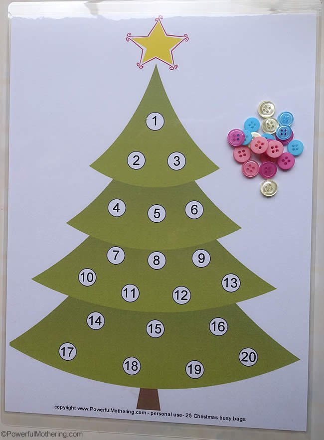 picture relating to Free Printable Christmas Tree titled Counting Xmas Lighting 1-20 No cost Printable - Xmas