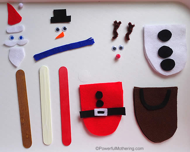 how to make a body matching busy bag