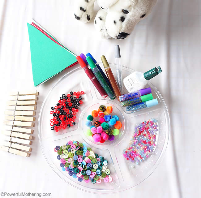 mini tree craft supplies