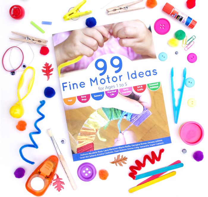 99 Fine Motor Ideas for Ages 1-5