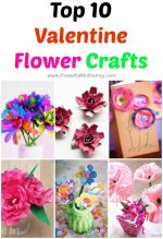Top 10 Valentine Flower Crafts