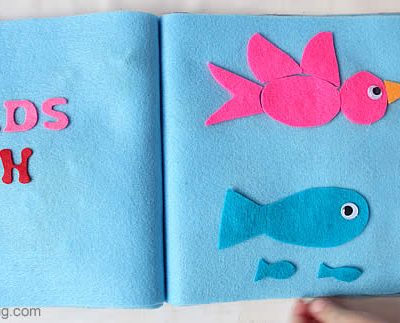 Creation: Birds & Fish – No Sew Quiet Book for Toddlers