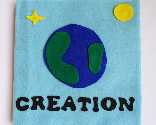 Creation: Light – No Sew Quiet Book for Toddlers