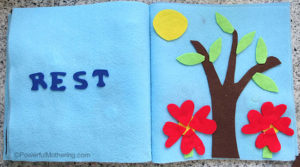 Creation: Rest – No Sew Quiet Book for Toddlers
