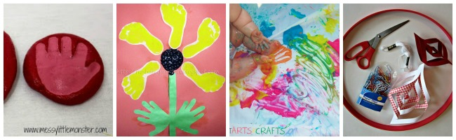 Baby Arts and Crafts Collage