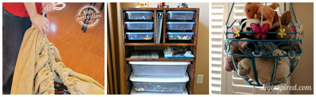 DIY Toys Storage Solutions