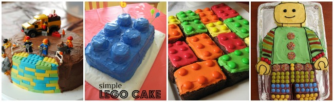 Lego Birthday Cake Ideas