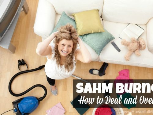 SAHM Burnout – How to Deal and Overcome
