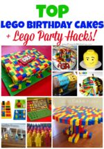 Top Lego Birthday Cakes for Kids + Lego Party Hacks!