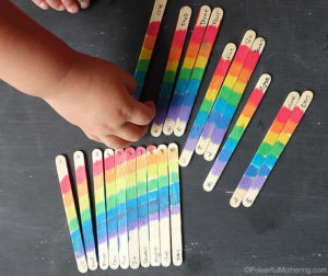 patterning with colors