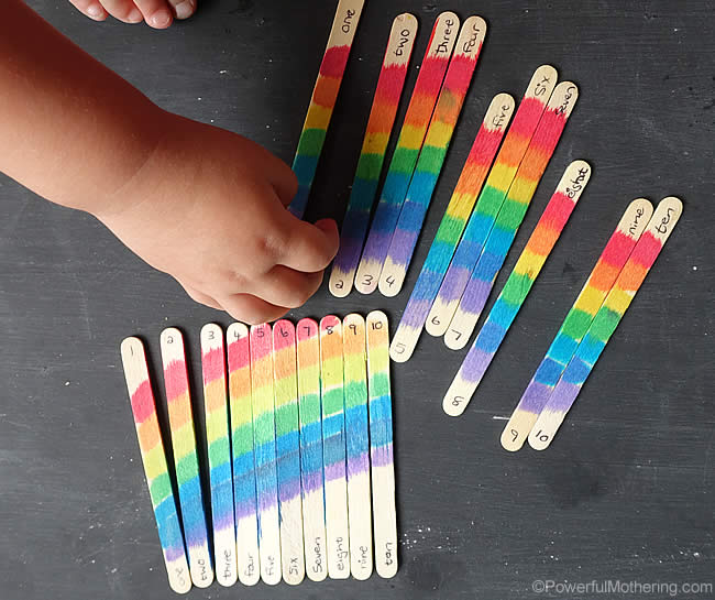 craft sticks rainbow craft rainbow craft stick puzzle 4062