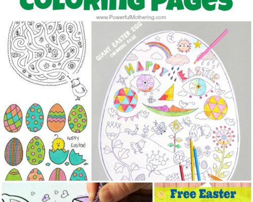 50+ FREE Easter Coloring Pages