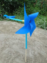 Make a Pinwheel Weathervane for Preschool Wind Watching