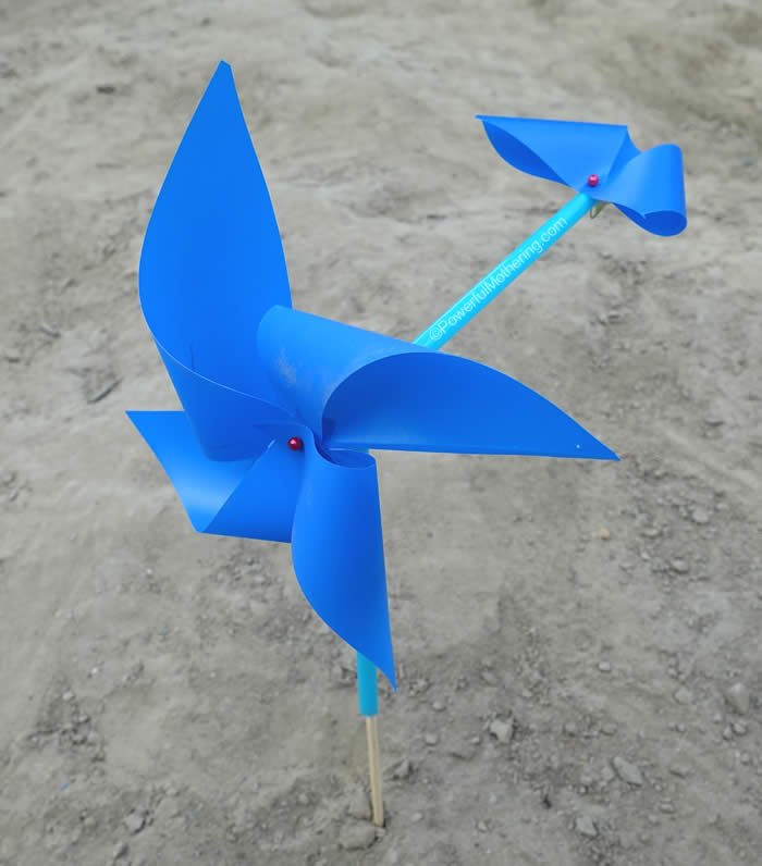 Pinwheel Weathervane preschool weather theme