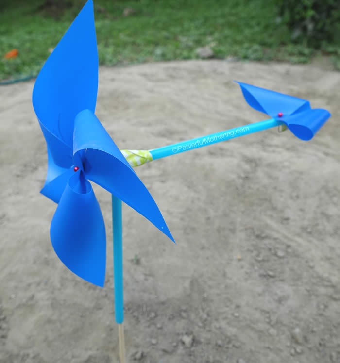 Pinwheel Weathervane weather unit