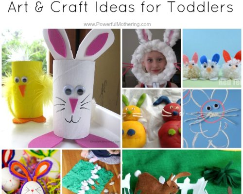 Top 10 Easter Bunny Art & Craft Ideas for Toddlers