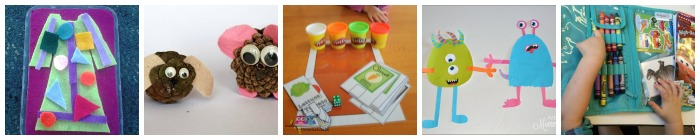 art and craft busy bag