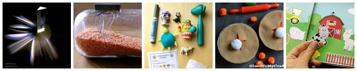 early learning busy bag explore