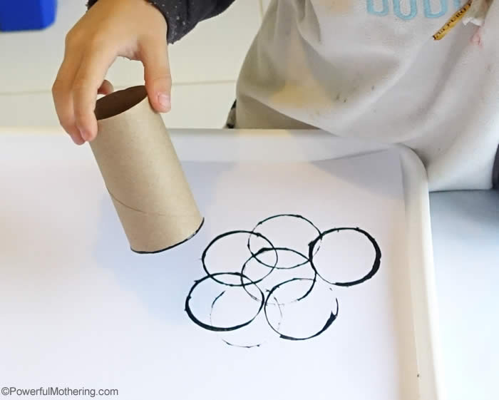 toilet roll printing