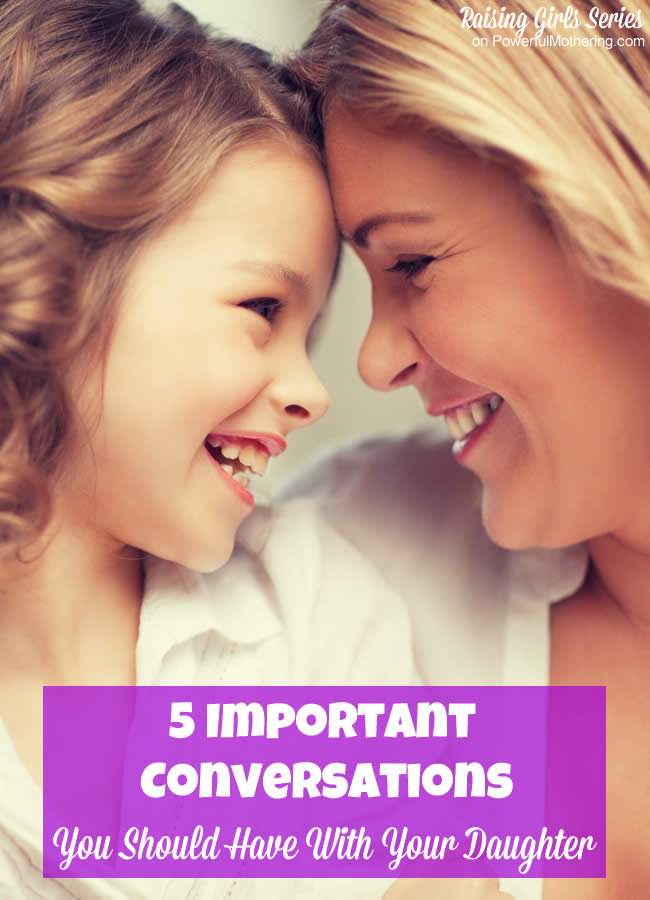 5 Important Skin Care Tips For Girls: 5 Important Conversations You Should Have With Your Daughter