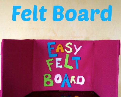 DIY Easy Felt Board