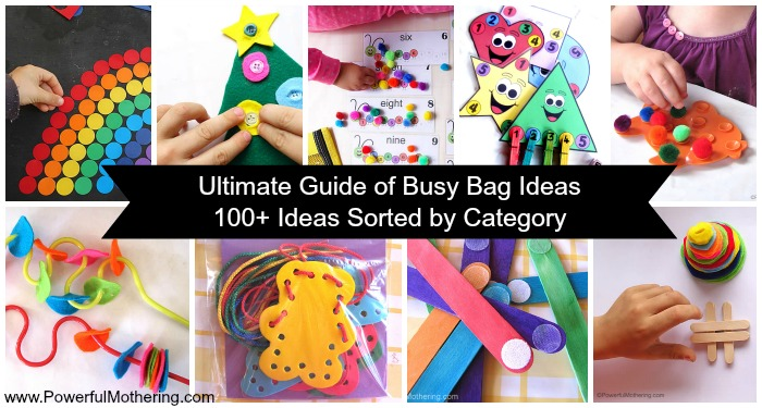 Ultimate Guide of Busy Bag Ideas