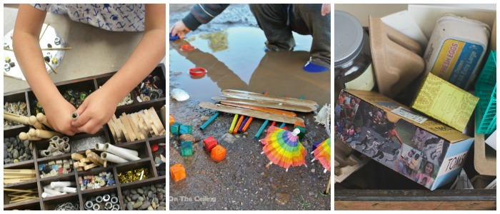 creative fine motor ideas loose parts