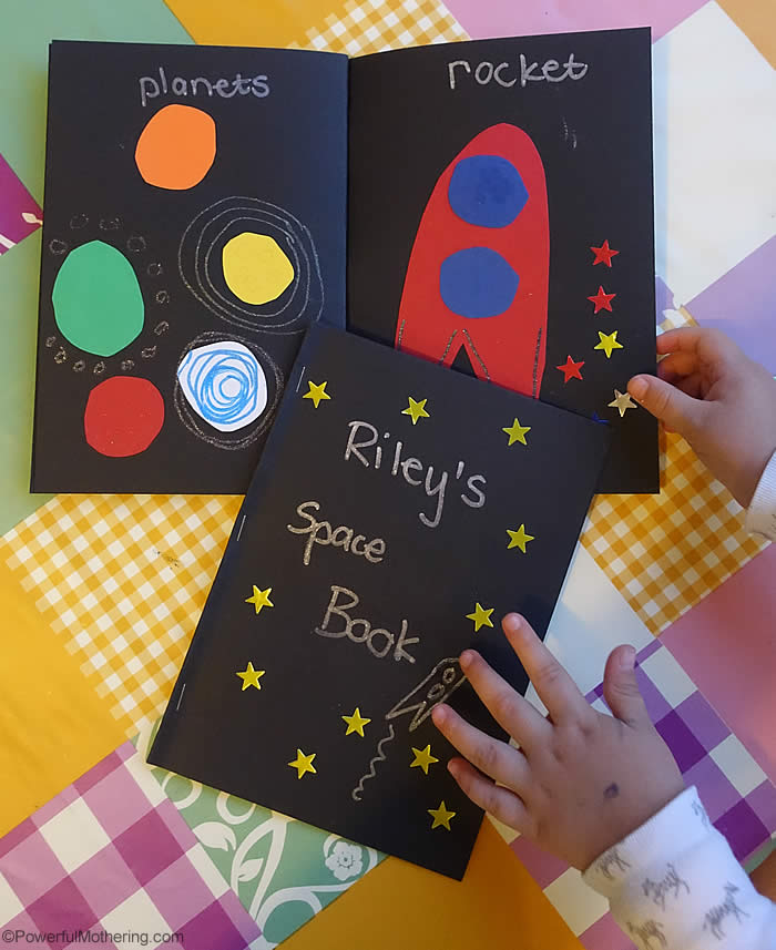 My space book for Art and craft books for kids