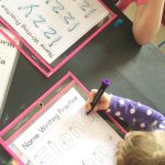 Name Tracing Printable For Preschooler