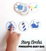Story Circles Preschool Busy Bag