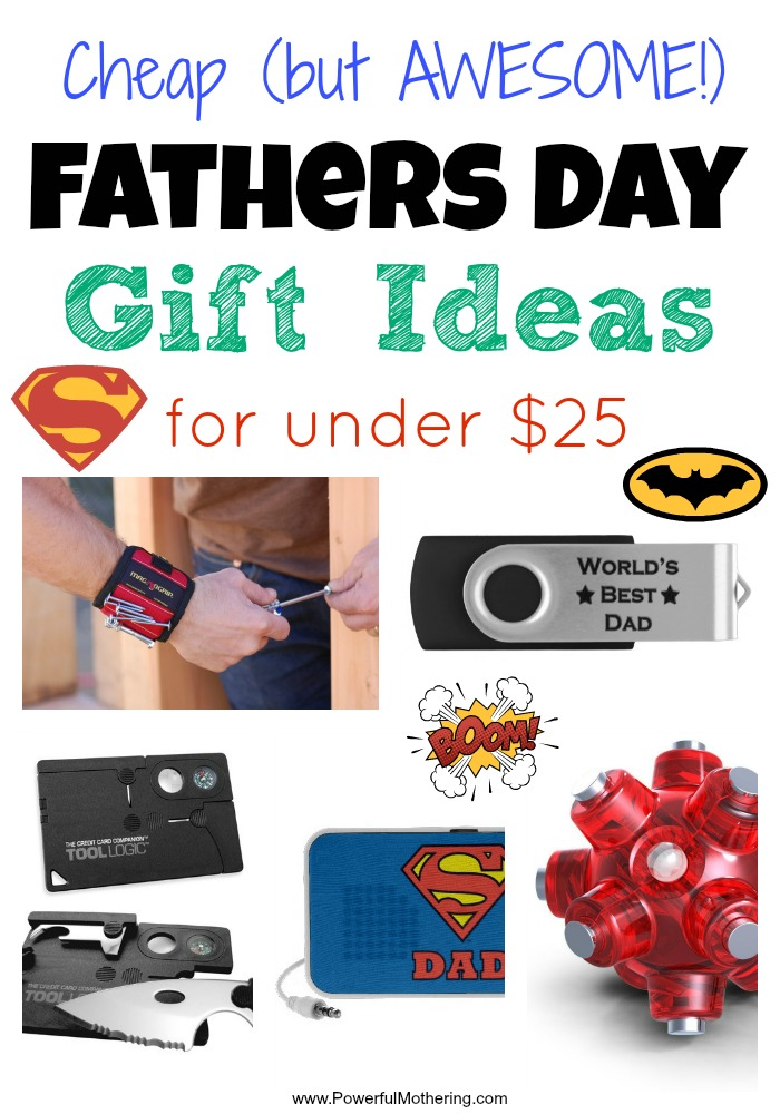 Cheap Fathers Day Gift Ideas for under $25