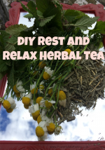 DIY Rest and Relax Herbal Tea