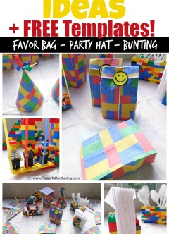 Lego Birthday Party Ideas and FREE Lego Templates