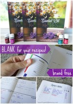 My BLANK Essential Oil Recipe Book