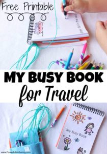 My Busy Book for Travel