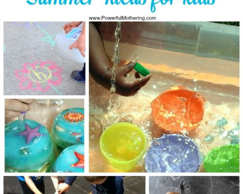 Wet and Wonderful Summer Ideas for Kids