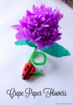How to Make Crepe Paper Flowers (Video Tutorial)