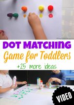 Dot Matching Game for Toddlers
