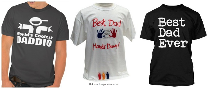 father day t shirt diy handprint kit