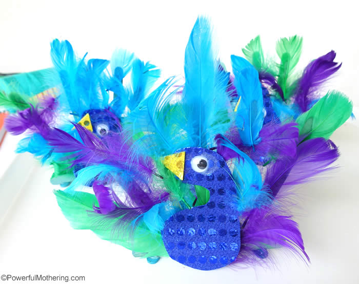 peacock crafts ideas peacock animal craft 2660