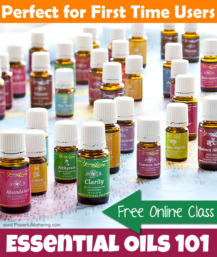 free online class for essential oils 101