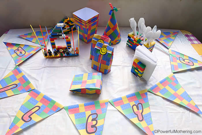 picture relating to Lego Party Printable identified as Lego Birthday Get together Suggestions and Cost-free Lego Templates