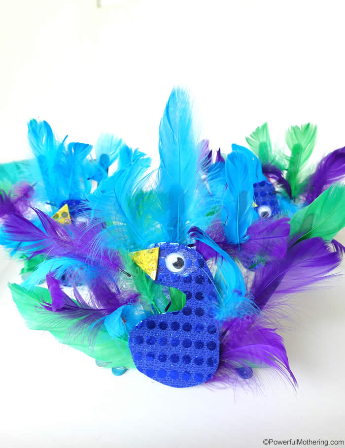 Peacock Animal Craft