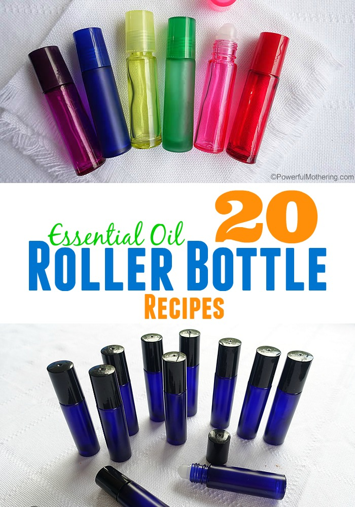 20 Essential Oil Roller Bottle Recipes