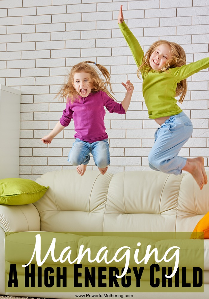 Quick Tips For Managing A High Energy Child