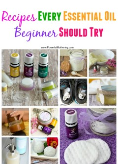 Recipes Every Essential Oil Beginner Should Try