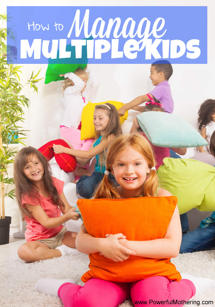how to manage multiple kids fb