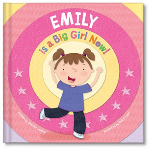 Im a Big Girl Now Personalized Book