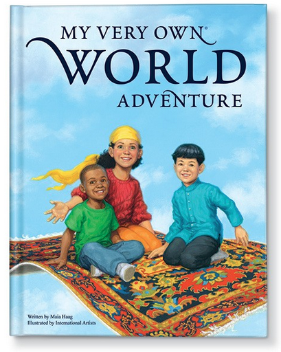 My Very Own World Adventure Storybook